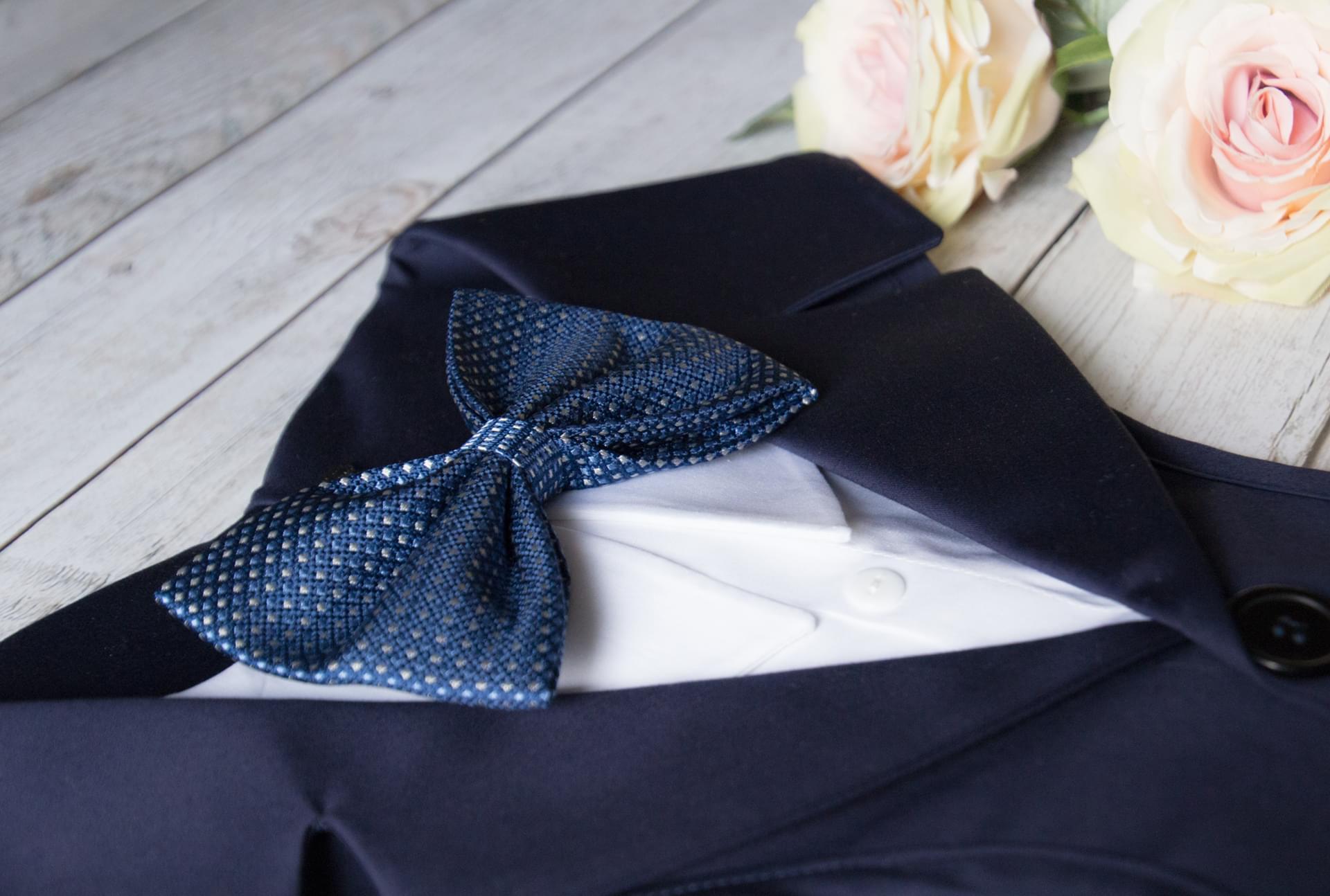 Cuscino Portafedi Bianco E Blu.Pettorine E Collari Personalizzate Per Cani Da Matrimonio