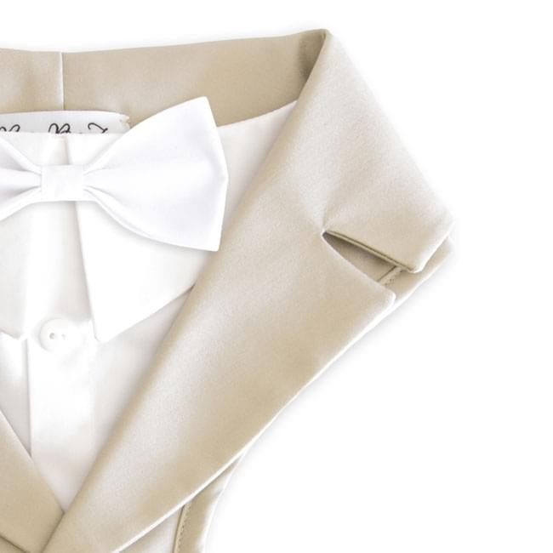 Xiacai Beauty Cartoon World Suspender/&Bow Tie Set Adjustable Clip-On Y-Suspender Kids